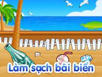 Làm sạch bãi biển