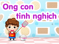 Ong con tinh nghịch