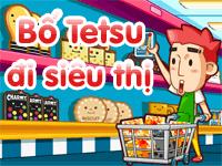 Bố Tetsu đi siêu thị