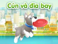 Cún và đĩa bay
