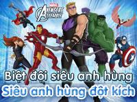 Biệt đội siêu anh hùng - Siêu anh hùng đột kích