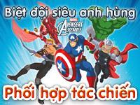 Biệt đội siêu anh hùng - Phối hợp tác chiến