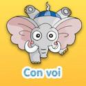 Con voi - Bé thách đố