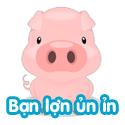 Bạn lợn ủn ỉn - Bé thách đố