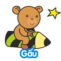 Gấu - Phần 2 - Bé thách đố