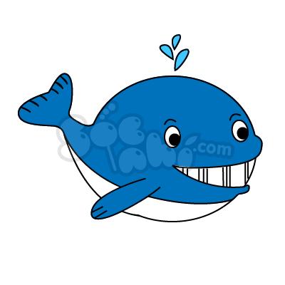 Học vẽ Cá Voi cùng Sóc Nhí nào!