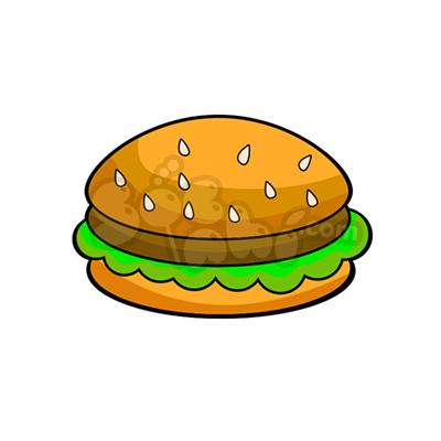 Học vẽ bánh hamburger cùng Sóc Nhí!