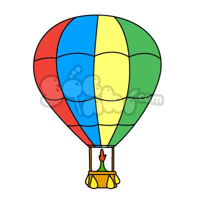 Vẽ khinh khí cầu