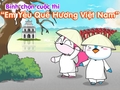 Cuộc đua Kẹo mút: Cuộc thi Em yêu quê hương Việt Nam