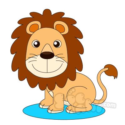 Học vẽ chú Sư tử - Chúa tể rừng xanh