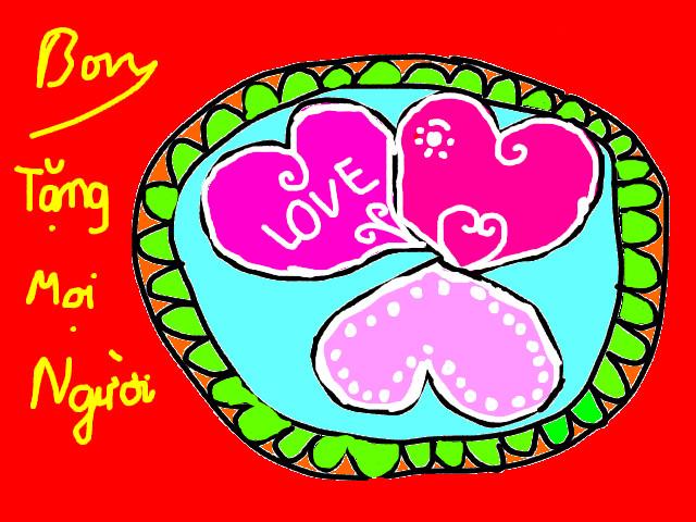 hoa-si-nhi/xem-tranh/159596/Chiec-banh-danh-tang-moi-nguoi.html