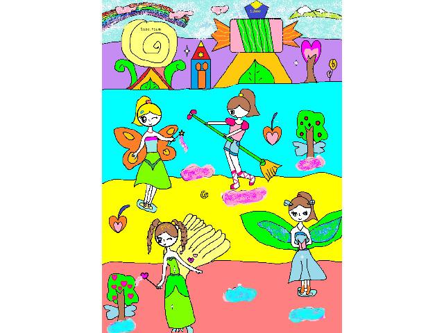 hoa-si-nhi/xem-tranh/165648/The-paradise-of-children.html