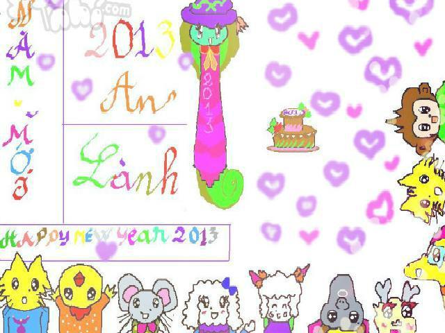 hoa-si-nhi/xem-tranh/186537/Happy-New-Year-2013-Nam-con-Ti-Ran.html