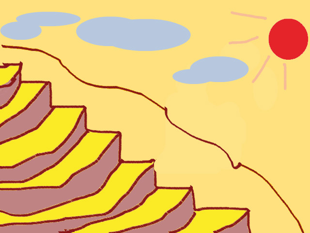 hoa-si-nhi/xem-tranh/209458/Ruong-bac-thang.html