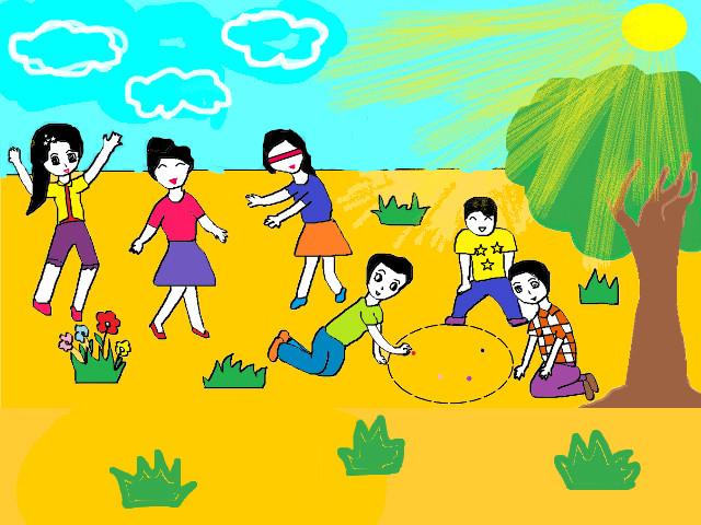 hoa-si-nhi/xem-tranh/218208/Ki-nghi-he-cua-chung-em.html