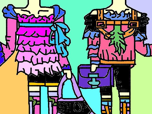 hoa-si-nhi/xem-tranh/42715/Thoi-trang-shopping.html
