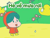 Hè về mưa rơi