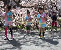 Điệu nhảy của các bé Nhật Bản