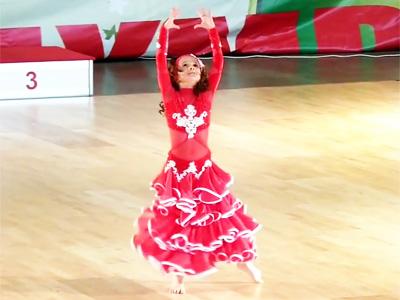 Vũ điệu sôi động của Anastasiya