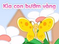 Kìa con bướm vàng
