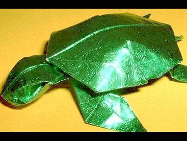 Gấp rùa giấy