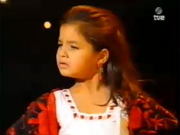 Flamenco alegria nghệ sĩ múa nhỏ tuổi