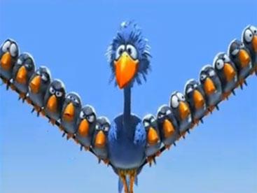 Chú chim ngu ngốc