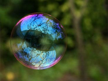 Sự kì diệu của bong bóng xà phòng