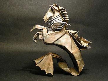 Nghệ thuật gấp giấy origami hoạt hình