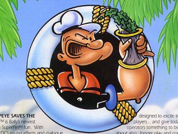 Popeye và Những động vật hoang dã