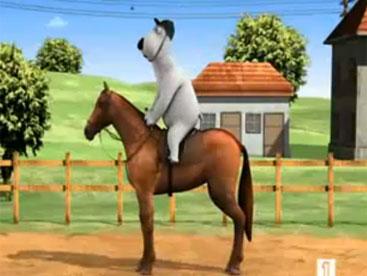 Backkom vận động viên cưỡi ngựa