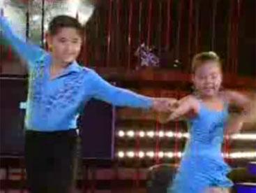 Trung Hiếu và Hiếu Hạnh những nghệ sĩ khiêu vũ nhí