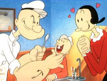 Popeye và những đứa trẻ nghịch ngợm
