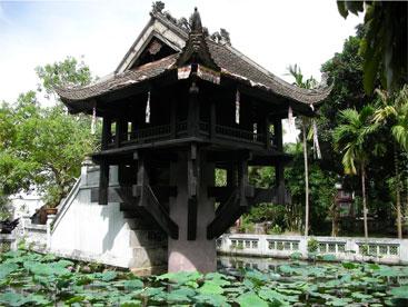 Lịch sử chùa một cột