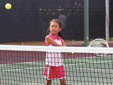 Vận động viên tennis nhí