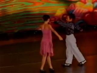 Erik rickie tài năng khiêu vũ nhí