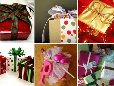 Làm hộp quà giáng sinh cho bố mẹ nhé