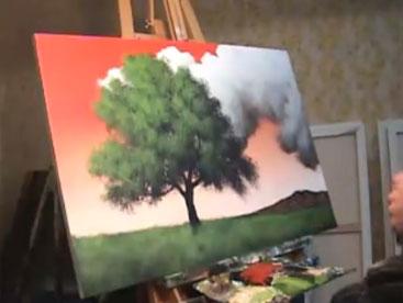 Nghệ thuật vẽ tranh sơn dầu