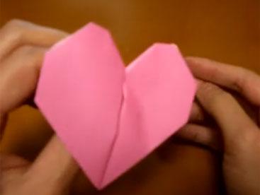 Cùng học gấp trái tim nhé