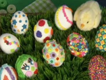 Cách trang trí trứng phục sinh