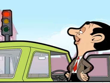 Mr Bean no parking