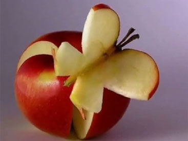 Tạo hình bằng trái cây