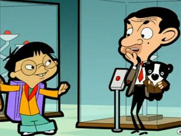 Mr Bean kết bạn