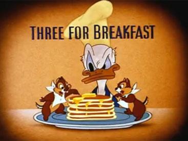 Bữa sáng của vịt Donal