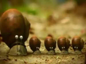 Thế giới côn trùng ốc sên xấu xí