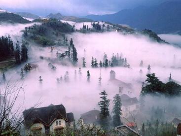 Một Sapa trong sương sớm