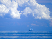 Tại sao đại dương lại có màu xanh?