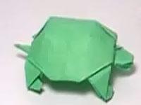 Bé đã biết gấp chú rùa bằng giấy chưa?
