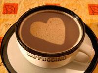 Nghệ thuật tạo hình với cốc café