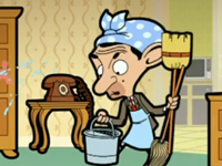 Mr Bean dọn nhà